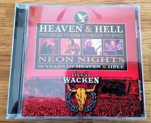 Heaven & Hell CD Neon Nights Live At Wacken Black Sabbath Dio