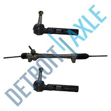 Complete ELECTRONIC Steering Rack and Pinion + 2 New Outer Tie Rods for Malibu