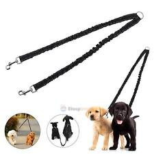 Pet Double Head Traction Nylon Rope Two Dog Puppy Training Leash Lead Strap Belt