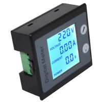 AC Digital Multi-function Meter Power Energy Voltage Current V A W KWh Monitor