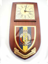 RAMC Royal Army Medical Corps Shield Wall Plaque Clock