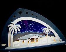 3D LED Illuminated Arch Plexiglass Candle Arches Bethlehem Christ Birthday 66