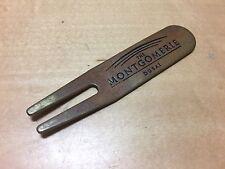 Used - Repair Tool Golf - THE MONTGOMERIE Dubai - Divot Tool - For Collectors
