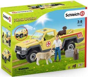 Schleich Veterinarian Visit At The Farm Playset 42503