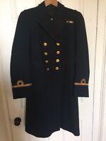 British Royal Navy Naval Officers Frock coat Uniform Jacket Circa 1920 #98