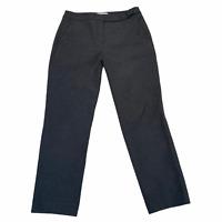Gerard Darel Paris Womens Trousers EU 38 Grey W29 L27 Formal