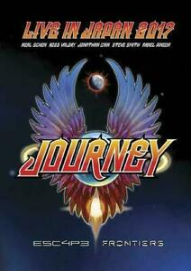 JOURNEY Live In Japan 2017 Esc4p3 Frontiers DVD BRAND NEW NTSC ALL Escape