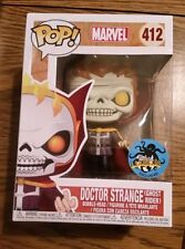 Doctor Strange as Ghost Rider Funko Pop Vinyl New in Box + LACC sticker + P/P