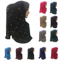 Women Hijab Al Amira Scarf Muslim Islamic Headscarf One Piece Head Wrap Cover