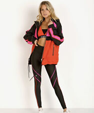 P.E Nation Pe Nation Man Down Jacket Xs Hot Pink And Red