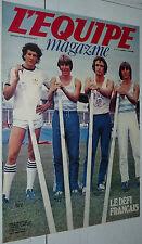 L'EQUIPE MAGAZINE N°5 1980 PERCHE ARNOUX F1 FOOTBALL KROL HEIDEN BERTRANNE PONS