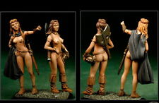 The Barbarians 2 Figuren 1:43 Figur Little Dragonettes Neu Pin up Metall V4309