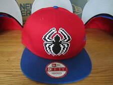 Spider-Man Marvel Comics New Era Hat Adjustable Snap Back MED-LG DOTS NWT 0021