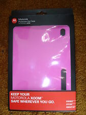 MOTOROLA PROTECTIVE GEL CASE  FOR XOOM PINK