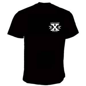 STRAIGHT EDGE TRIPLE X T-SHIRT (6 Farben)
