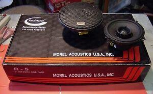 "High-End,  RENAISSANCE (Morel), R-5  INTEGRA , 51/2"" Car Speaker 120W RMS New"