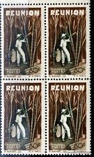 Francobolli nuovo REUNION Yt 267 BLOCCO 4 1947