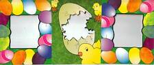 *Easter* Set of 3 Frames For Cards or Scrapbooking your Photos Eggs/Chicks