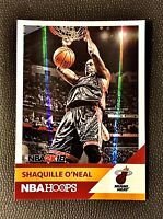 SHAQUILLE O'NEAL (SHAQ)2017-18 NBA Hoops NBA2K18 Refractor/Foil Miami Heat🏀🔥