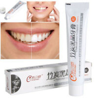 Bamboo Charcoal Black Toothpaste Teeth Whitening Cleaning Hygiene Oral Care CB