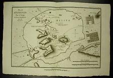 Plan d'Athènes Mélite Limnae Carte 1790 map sculp Tardieu & L Aubert scipsit