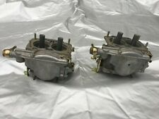 Pair Weber 40 DCNF new old stock