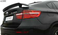 RDX Heckspoiler BMW X6 E71 E72 Heckflügel Heck Spoiler Flügel Hinten Tuning Wing