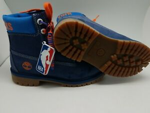 Timberland Premium NBA New York Knicks Boots Men's/boys Size 5. A3198 A246V