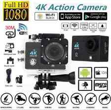 "4K Ultra SJ9000 WiFi Sport Action Camera DV 2.0""Inch HD 1080P DVR Cam Waterproof"