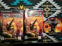 Ring of Red (Sony PlayStation 2, 2001) PS2 Complete w/ Manual