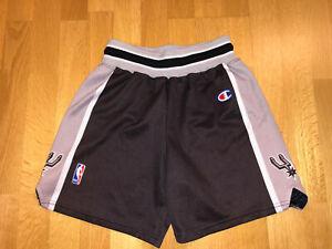 Vintage San Antonio Spurs Youth Size CHAMPION NBA Jersey Shorts Men's X550