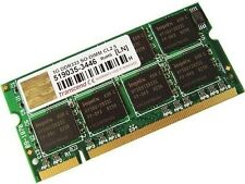 Mémoire de 1 Go, 2 x 512 Mo DDR2 RAM 533 MHz PC2-4200 SODIMM 200 broches CL4 Transcend