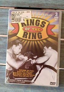 Kings Of The Ring 3 DVD Set . PAL PLAYBACK REGIONS