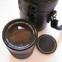 KONICA HEXANON AR 135mm F 3.5 LENS with CASE
