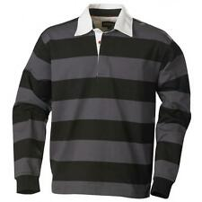 Cotton Rugby Shirts Fitted Men's Casual