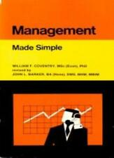 Management (Made Simple Books),William F. Coventry, John L. Barker