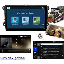 "9"" Android 5.1 Car Stereo Radio MP3 Player GPS Navi 1 Din for VW CC Jetta Golf"