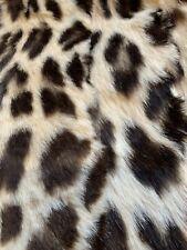 Vintage Natural Leopard Muff