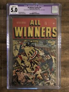 All Winners Comics 14