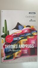 Unique Knitting Pattern Book #357 Throws & Rugs 9 Designs to Knit & Crochet