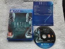UNTIL DAWN EXTENDED EDITION PS4 ( action/adventure, FPS & survival horror )