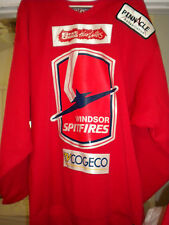 2005-06 NHL AHL KHL OHL  WINDSOR SPITFIRES CAL O'REILLY GAME WORN HOCKEY JERSEY