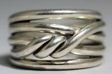 925 Sterling Silver David Yurman Continuance Ring Size 8 (LP3034457)