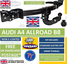 AUDI A6 2004-2011 C6 4F Saloon Fixed Swan Neck Towbar with Electric Kit 13Pin