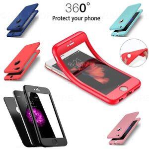 COVER MORBIDA Per Apple Iphone 6 6s 7 8 / Plus + PELLICOLA VETRO TEMPERATO 360°