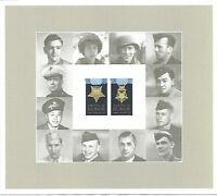 Medal of Honor Korean War Full Mint Sheet of 20 Forever Stamps Scott 4822-23