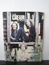 The CREAM Album SHEET MUSIC BOOK (Album No 1) FREE UK POST