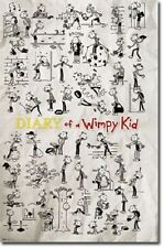 POSTER #6301 68 CR 22 X 34 WHIMPY KID DOODLES