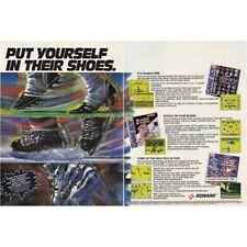 Nintendo GAME BOY KONAMI NFL Blades of Steel 5 on 5 two-page magazine print ad