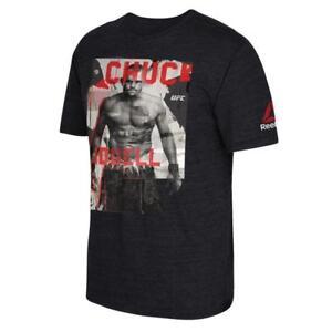 Reebok UFC Tribute Series Chuck Liddell MMA Legend Short Sleeve T-Shirt Tee
